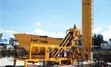 Mobile Concrete batch Plant